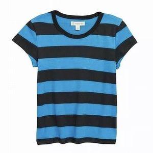 Nwt Tucker + Tate | Blue Black Striped Short
